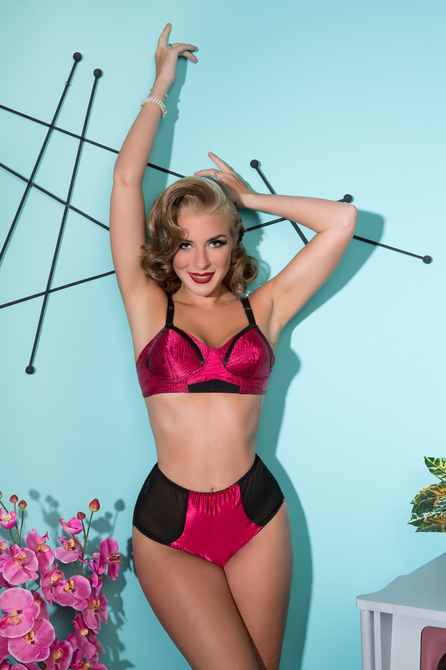 Court Royal Red Vixen Knickers
