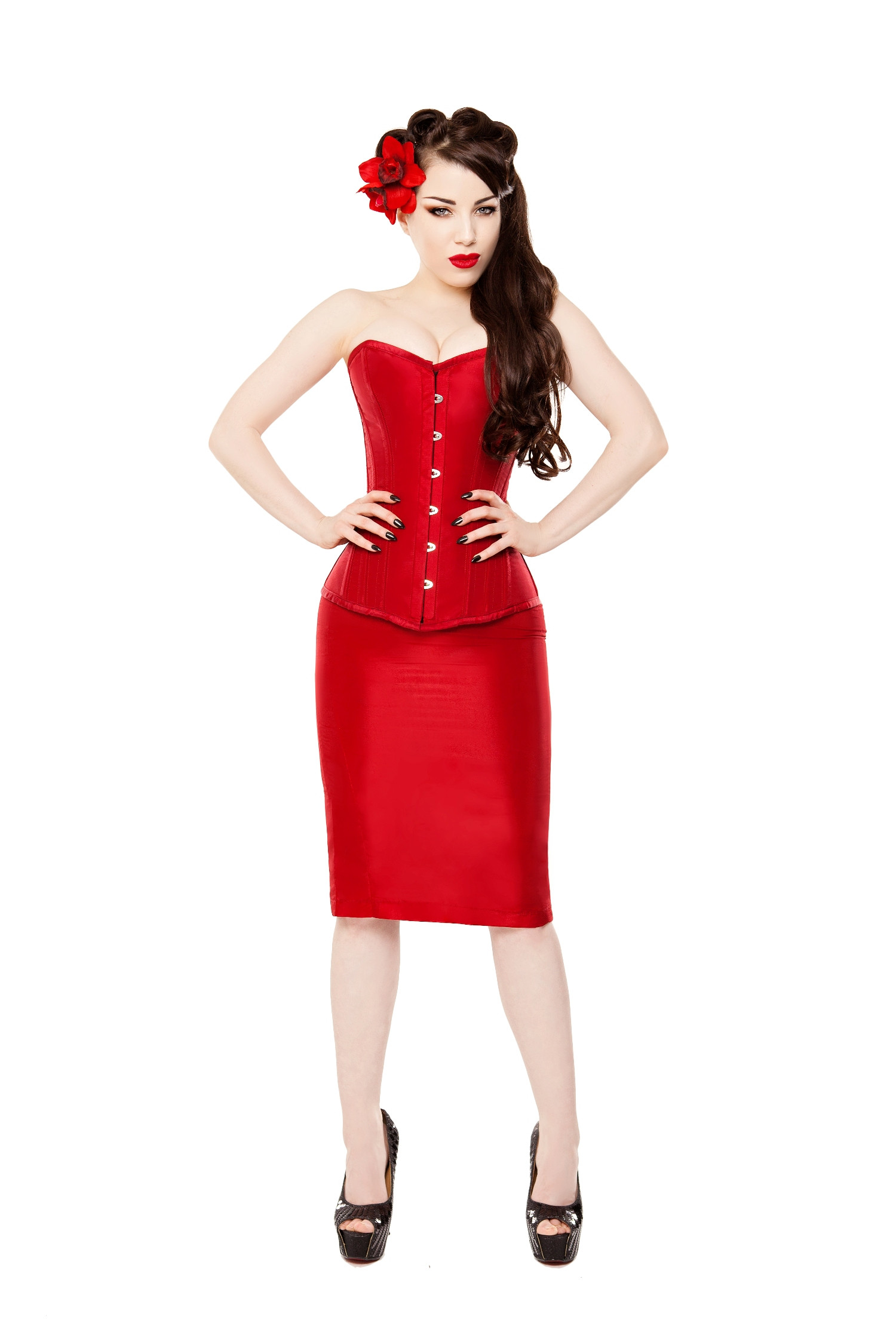 Be A Devil Corset Dress