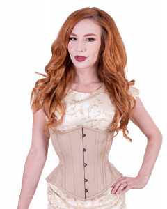 Artemis Corset with Extreme Curve in Nude