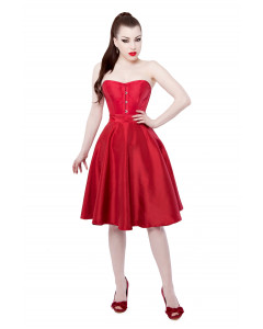 Red Tafetta Circle Skirt