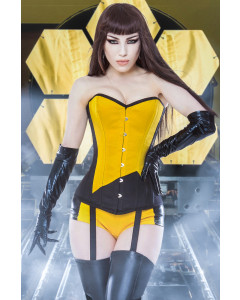 Black/Yellow Silk Spectre
