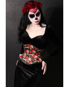 Mimi Sugar Skull Day of the Dead Dia de los Muertos Corset