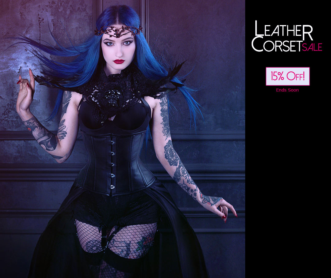 Leather Corset Sale