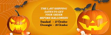 Halloween Ship Dates